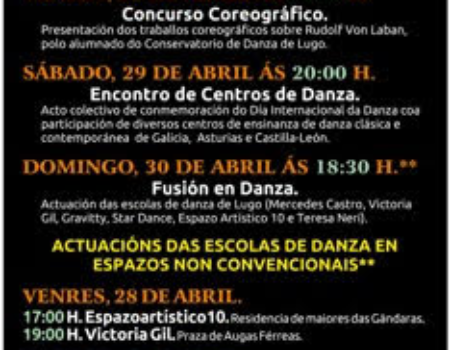 "A EMMeD participará na ""VI Semana da Danza de Lugo"""