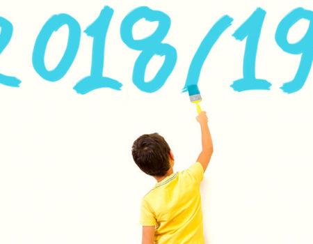 Inicio do curso 2018/2019