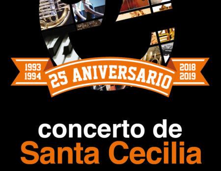 A Escola Municipal de Música e Danza de Ribadeo celebra Santa Cecilia