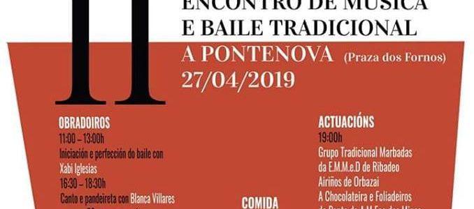 O Grupo Tradicional Marbadás actuará en A Pontenova