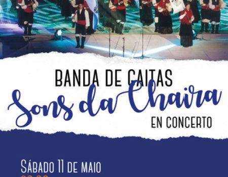 Concerto da Banda de gaitas Sons da Chaira