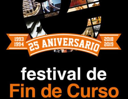 A EMMeD de Ribadeo pecha cun festival o curso 2018-2019