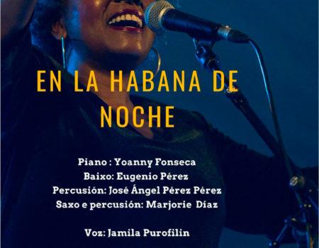 Jamila Purofilin en concerto