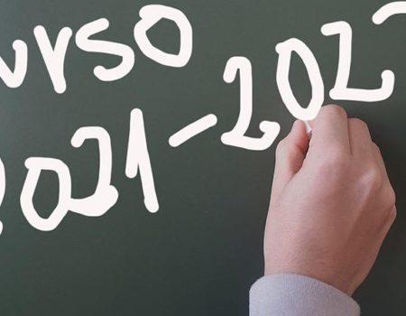 Inicio do curso 2021/2022